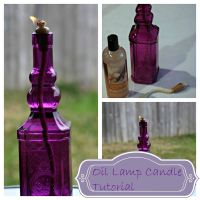Glass Bottle Oil Lamp | Tips and Tricks | Pinterest | Oil ...