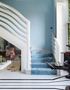 The south kensington london flat of lebanese interior designer danielle moudaber also stairs shootfactory location agency rh za pinterest