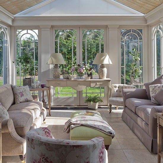 Classic Conservatory Country Conservatory Design Ideas