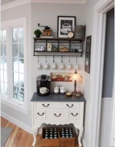 places in your home where you can set up  coffee station also rh pinterest