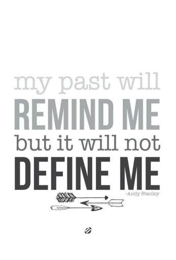 My Past Quote