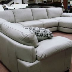 Gray Sectional Sofa For Sale Plastic Wrap Storage Natuzzi Editions Leather Sectionals B684 Cognac