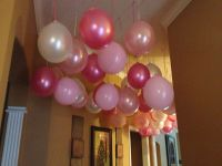 Decorating with balloons without helium   Baileys Birthday ...