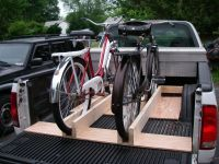 bike rack for truck bed