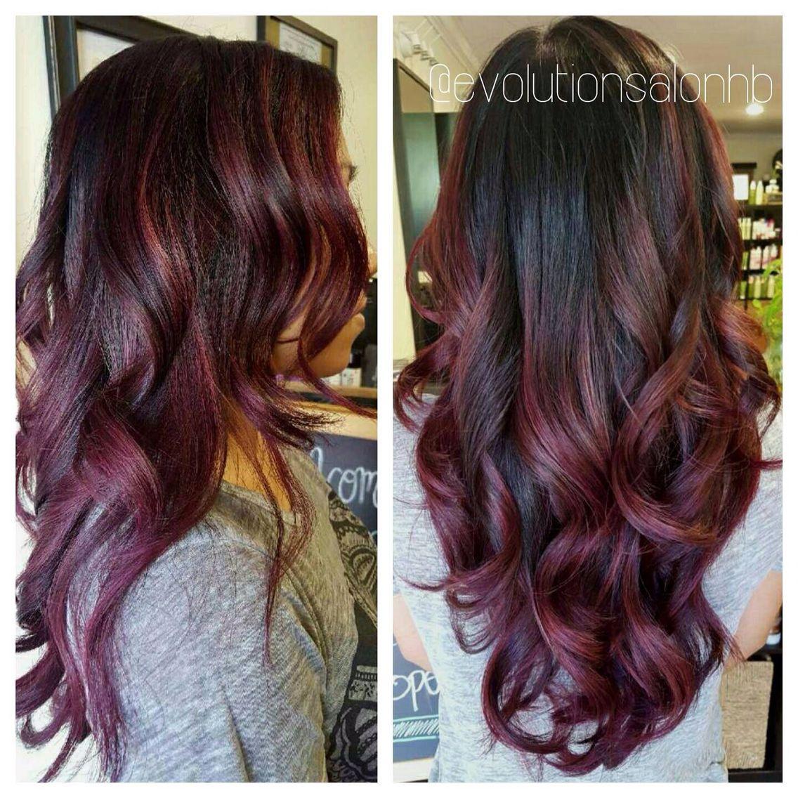 Revlon Burgundy Brown Hair Color