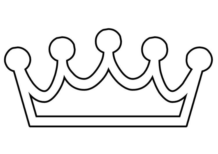 Malvorlage Krone basteln Pinterest Kronen