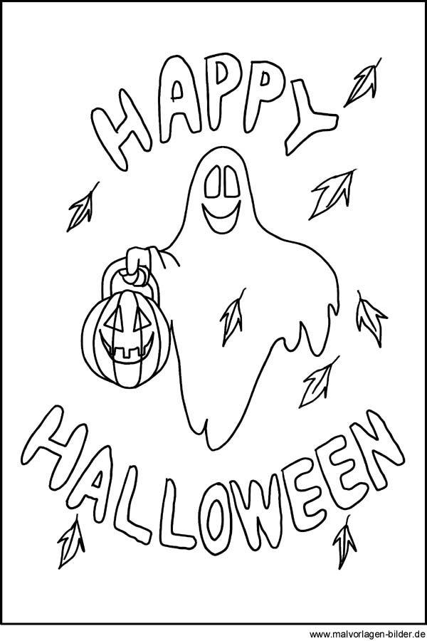 Halloween Malvorlagen Zum Ausdrucken