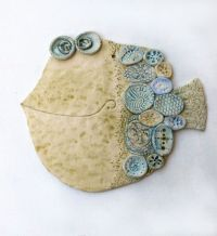 Ceramic Fish on Pinterest   Folk Art Fish, Clay Fish and ...