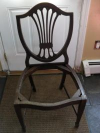 Collectibles-General (Antiques): Shield Back chairs ...