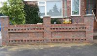 front garden wall designs - Google Search | Garden wall ...