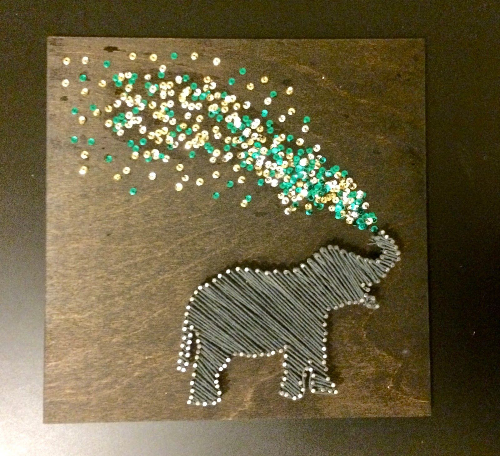Tackling The String Art Elephant The First Installment In