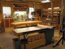 Woodworking Shop Floor Plans