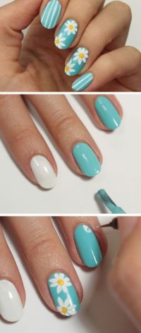 19 Awesome Spring Nails Design for Short Nails | Summer ...