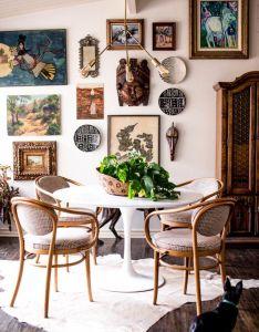 Pedestal dining table interior design also pin by kayla alpert on june st pinterest gallery wall walls rh