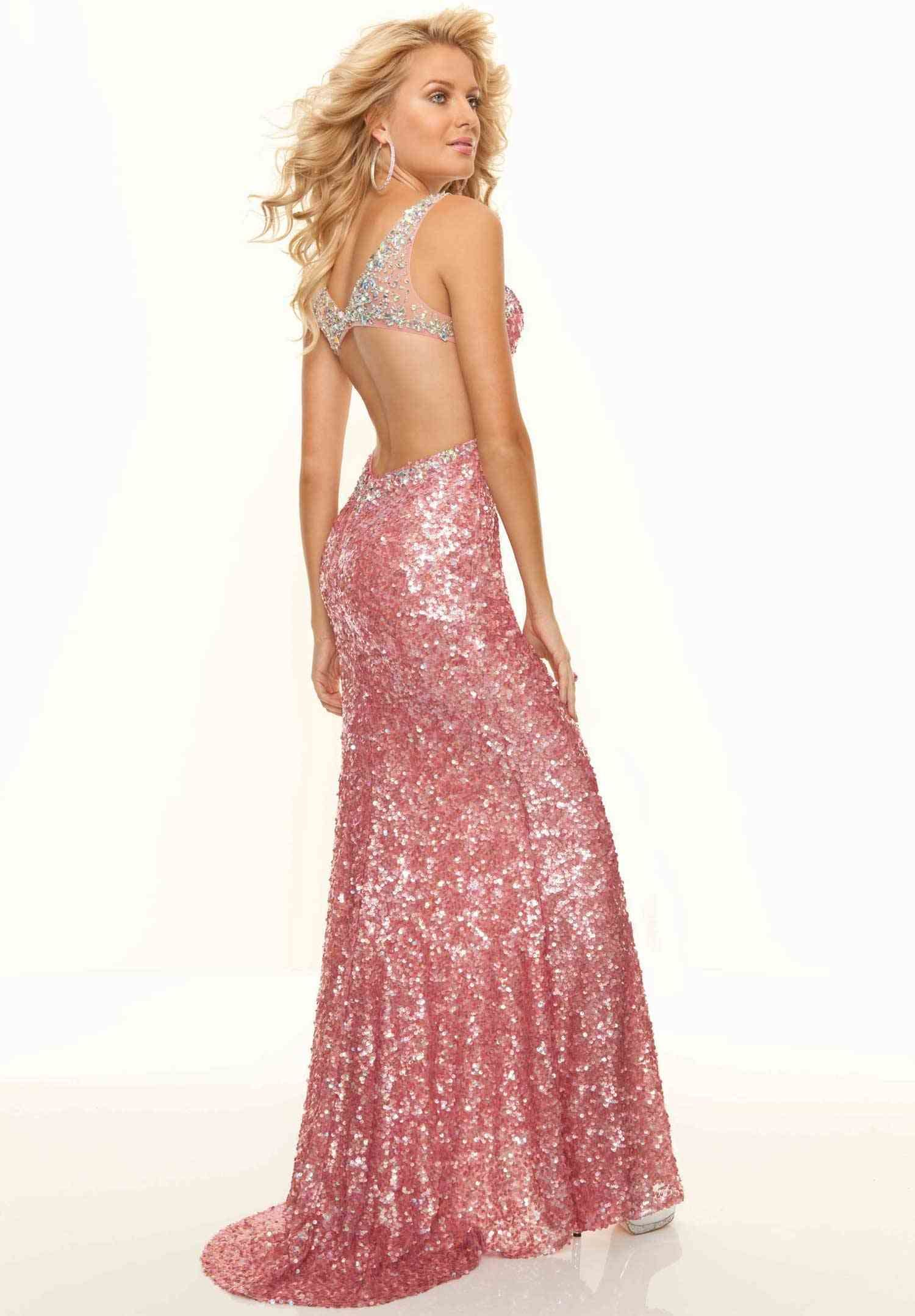 Pink Sparkly Prom Dress  Great Ideas For Fashion Dresses 2017