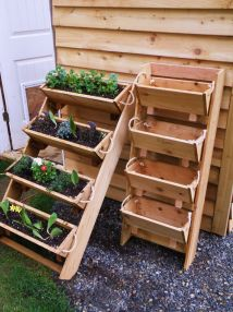 "16"" Cedar Herb Tomato Flower And Strawberry Gardening"