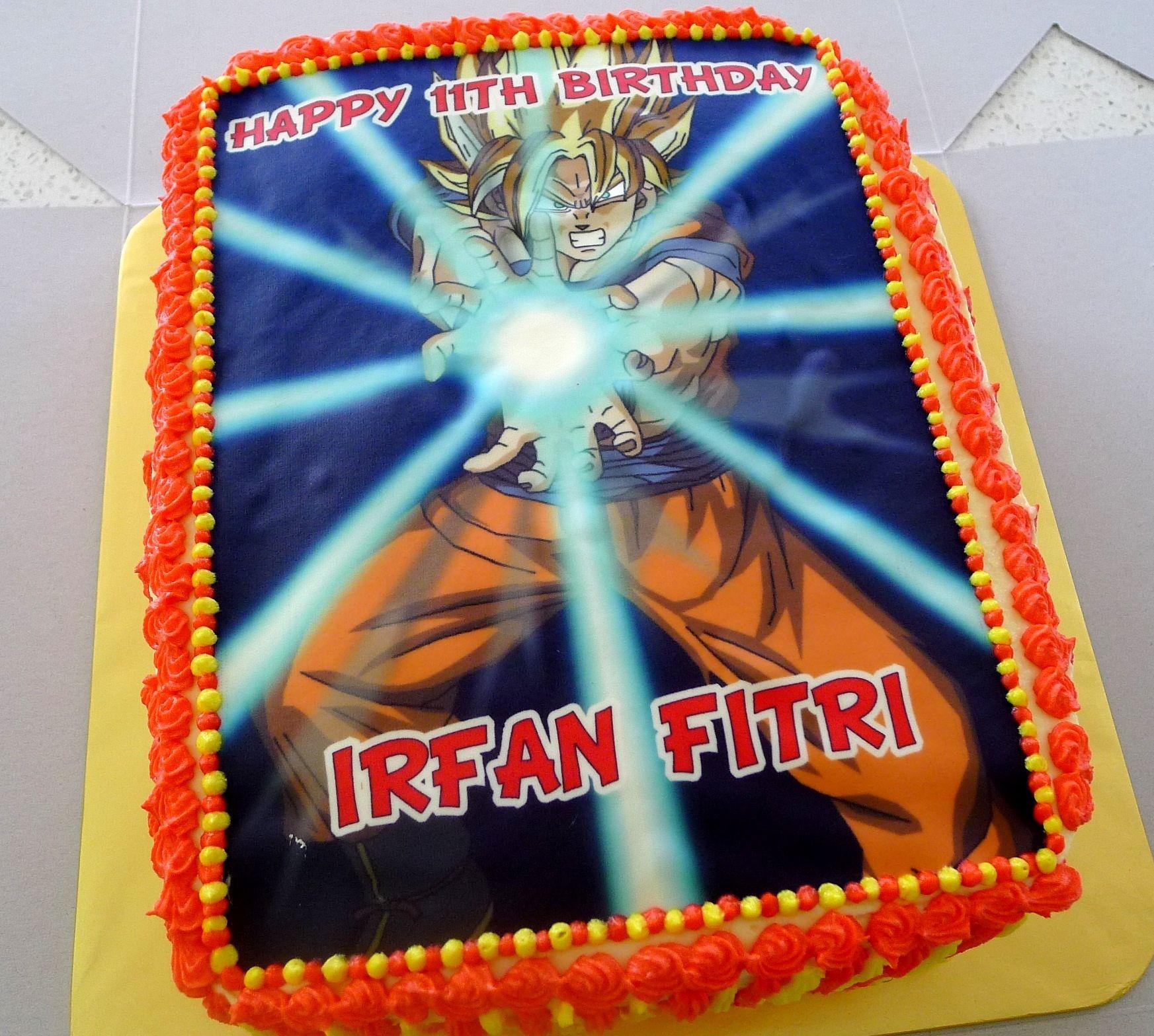 Dragon Ball Z Madness Goku And Birthday Cakes
