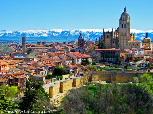 Segovia Spain Landscape