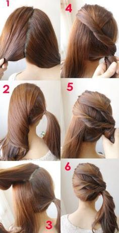 Step By Step Easy Hairstyles For Long Hair Hair Tips & Trends