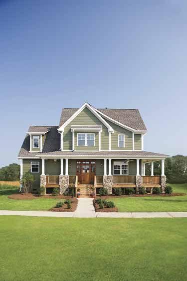 Glorious Farmhouse HMAFFDW06509  Craftsman House Plan from Frontdoor Extend wrap around