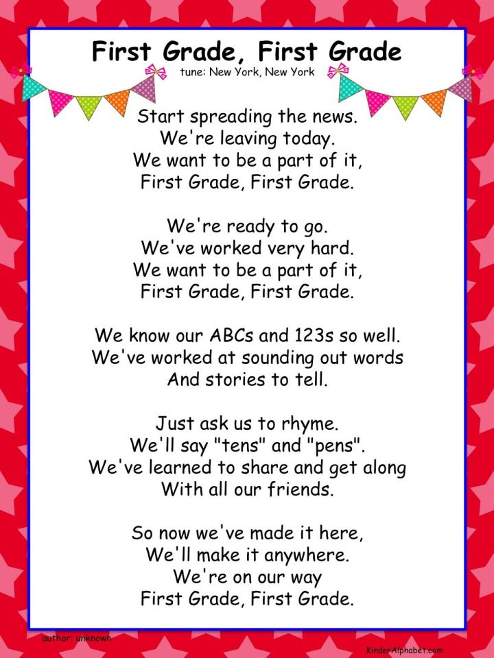 Graduation Poems For Preschoolers To Recite Just B Cause End Of The Year Activities Free Leaving