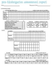 PreK Ongoing Assessment Checklist-Updated | Teacher ...