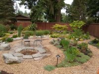 How to make a pea gravel patio. Description from pinterest ...