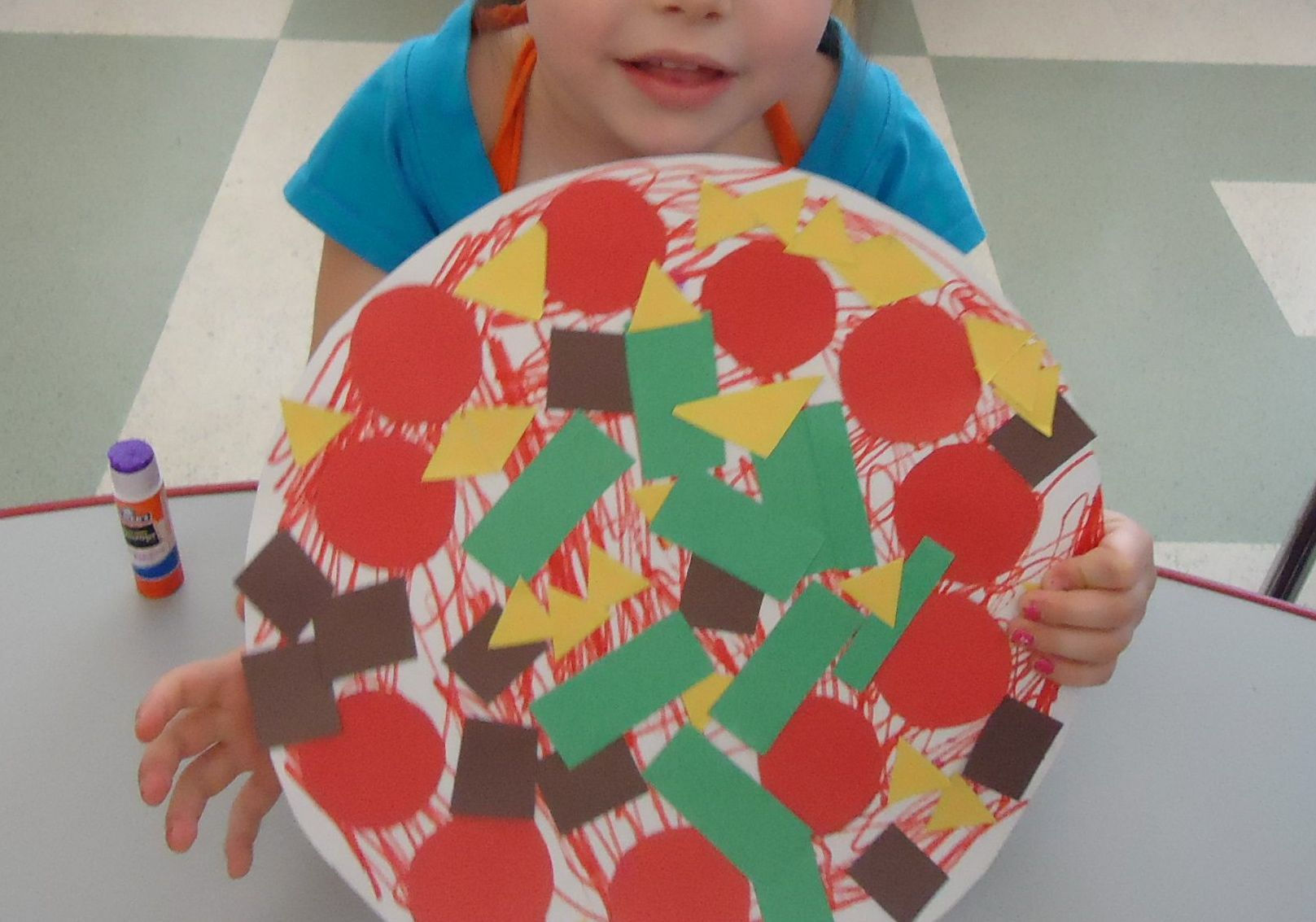 Preschool My Pizza Shape