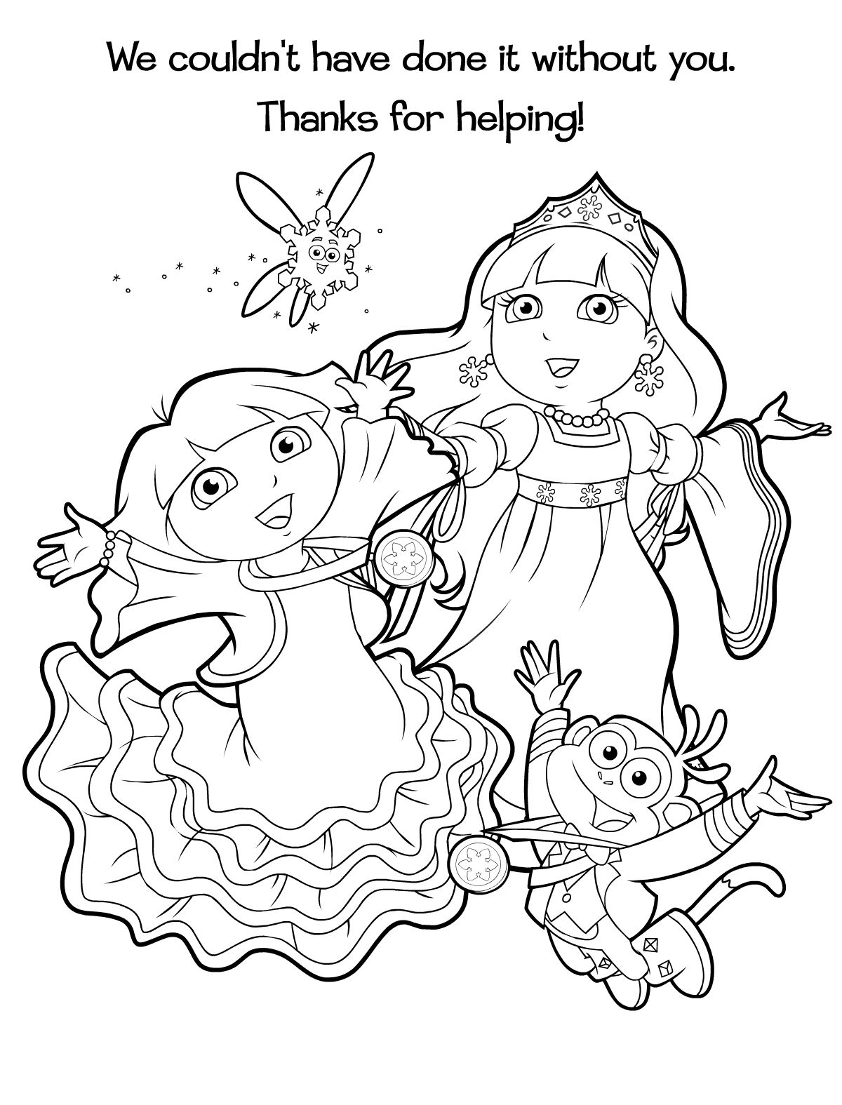 Dora Sneeuwprinses 5