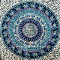 Mandala Tapestry Purple Indian Wall Hanging Hippie Wall ...