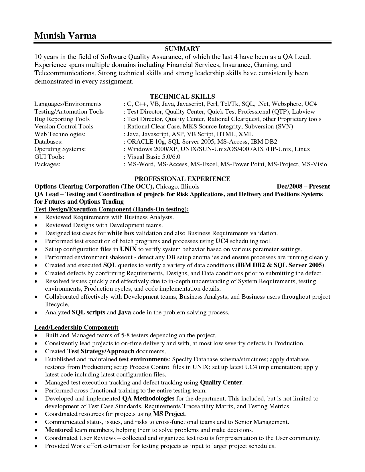 summary qualifications accounting resume customer