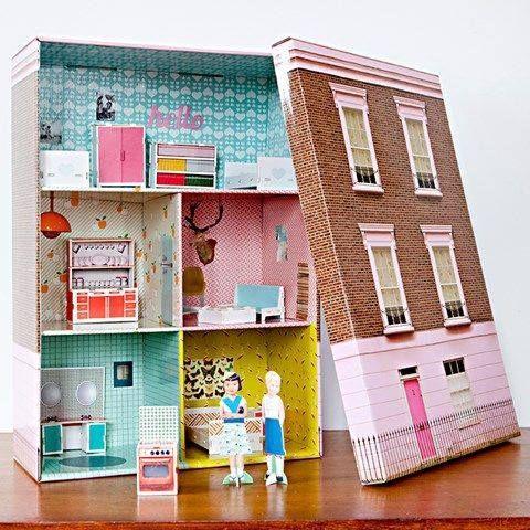 Shoe Box DIY Pinterest Box Craft And Doll Houses