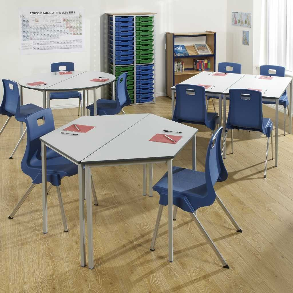 teacher table and chair zebra bedroom fully welded student tables educational school classroom