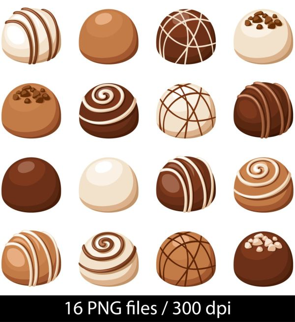 chocolate clipart candy
