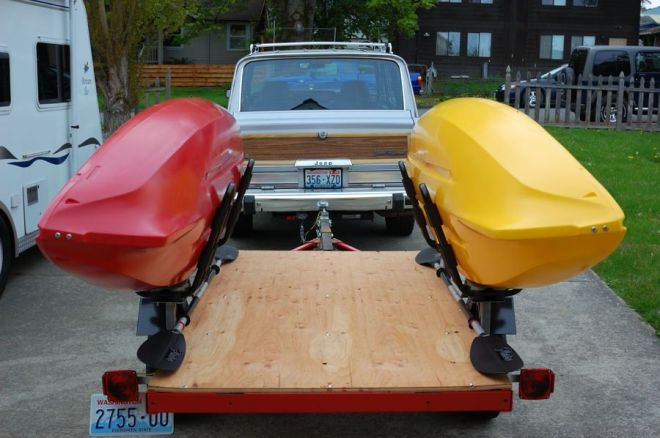 Bike and build your own kayak trailer topic my homemade