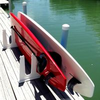 Stand Up Paddle Board Storage For Docks -- FREE SHIPPING ...