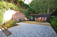 Urban backyard ideas | chairs furniture garden rear garden ...