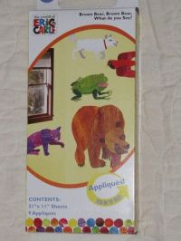 Eric Carle Brown Bear What do you See Wall Stickers Decals ...