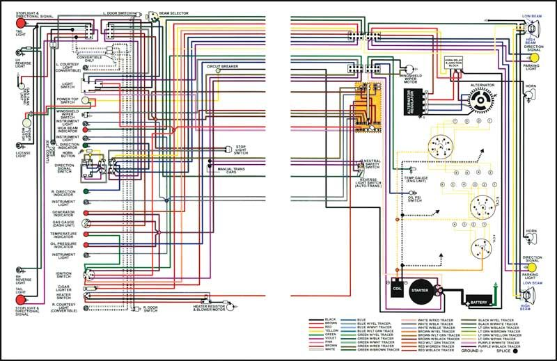 1967 C10 Wiring Diagram Truck Parts 1967 1967 CHEVROLET