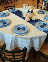 Baby Blocks, Bears and Bowties Baby Shower Party Ideas ...