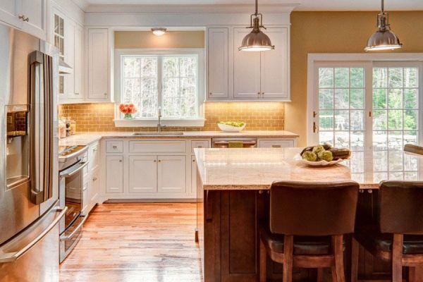 warm kitchen design warm kitchen color schemes | Modern Warm Kitchen Interior Comfortable Warm Kitchen Colors