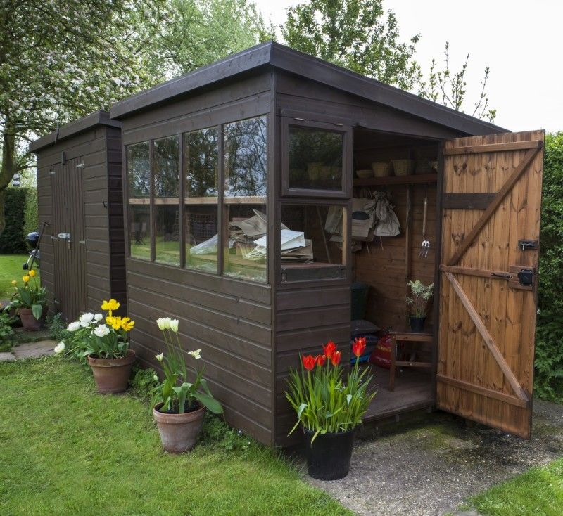 19 Small Quaint Outdoor Gardening Sheds Gardens Spring And