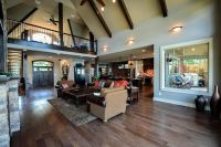 Rustic Mountain House Floor Plan with Walkout Basement ...