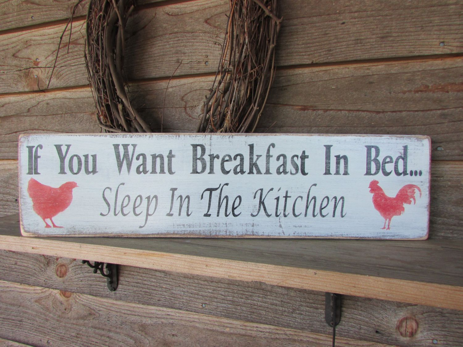 wooden signs for kitchen oxo country home decor hand pinted wood sign