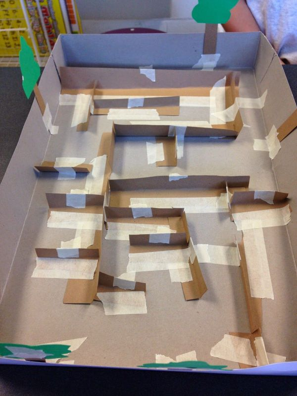 Stem Activity Challenge Build Marble Maze