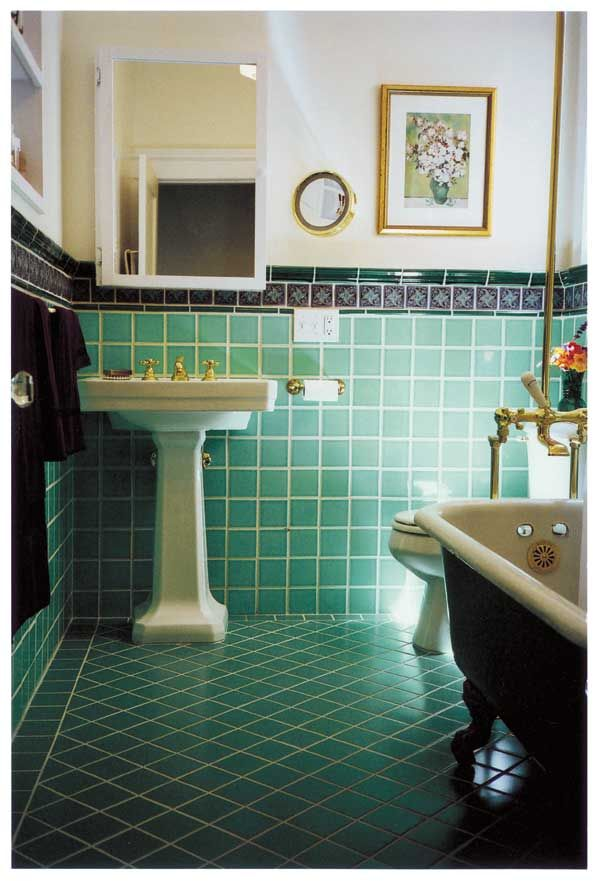 Dazzling Tile for Art Deco Baths  Bath Originals and House