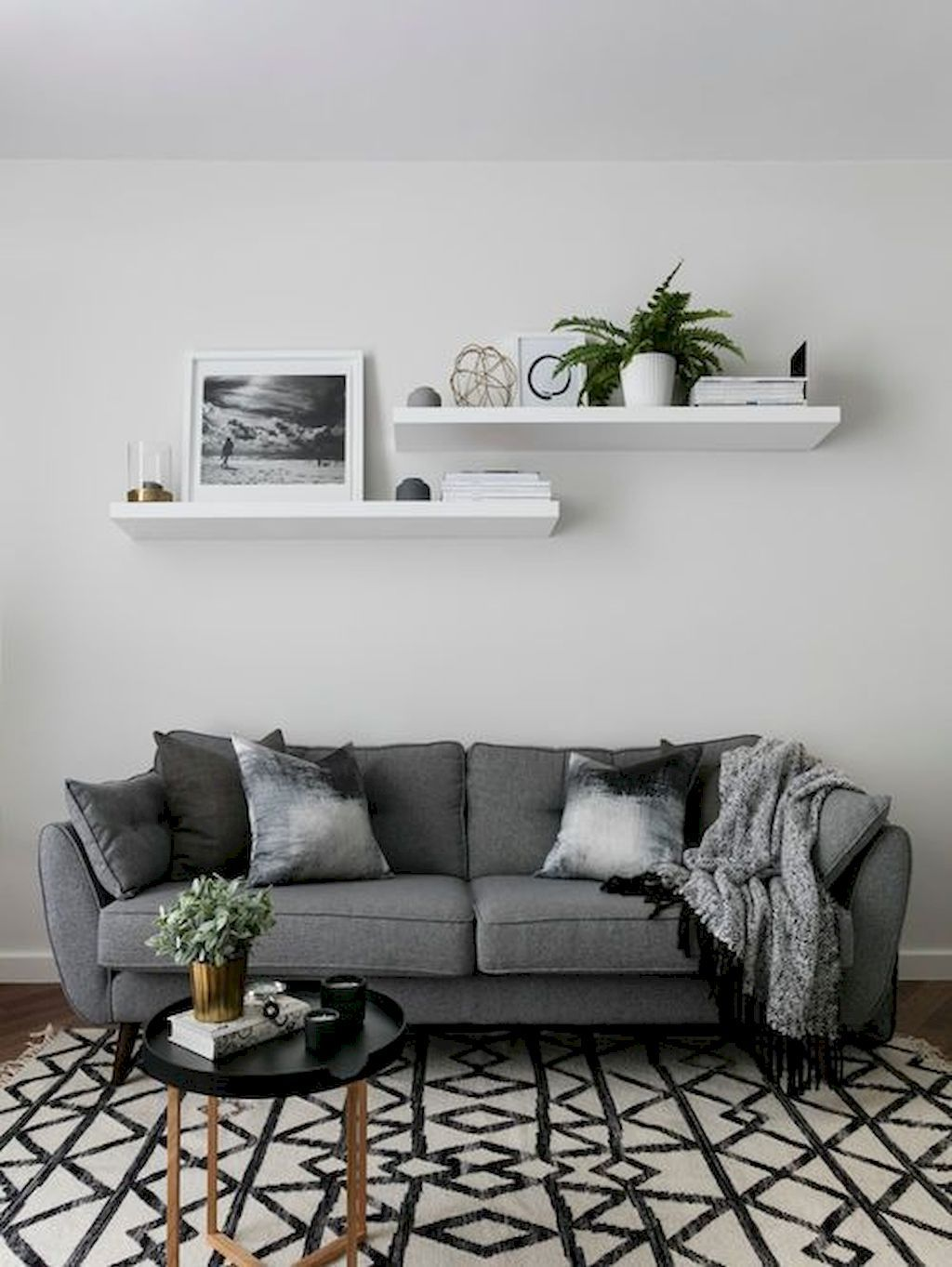 cozy modern farmhouse living room decor ideas also rh pinterest
