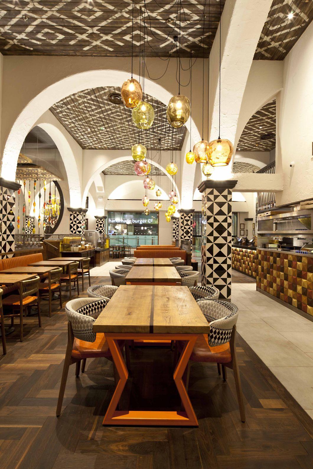 Nando S Newcastle Interior Design Restaurants Cafes And Bars