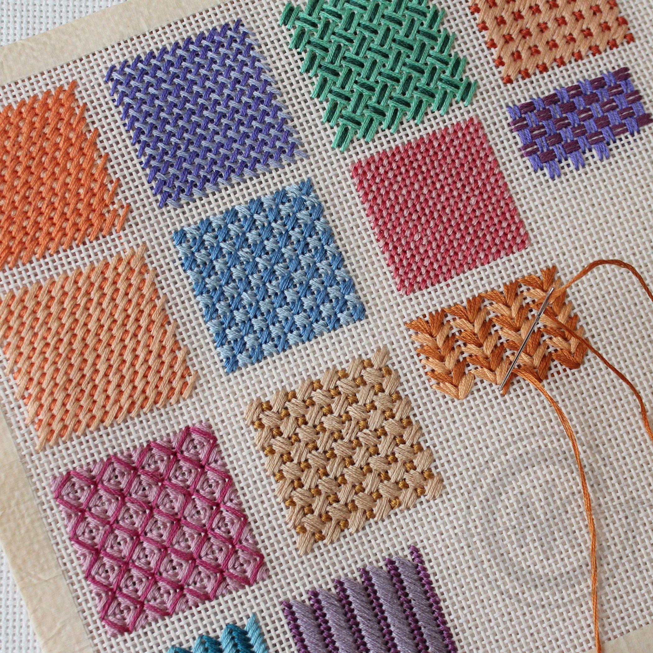 needlepoint stitches stitch diagrams photosynthesis diagram to label variations needleknowledge