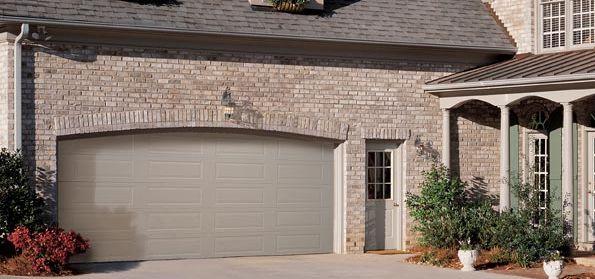 garage door sandstone color